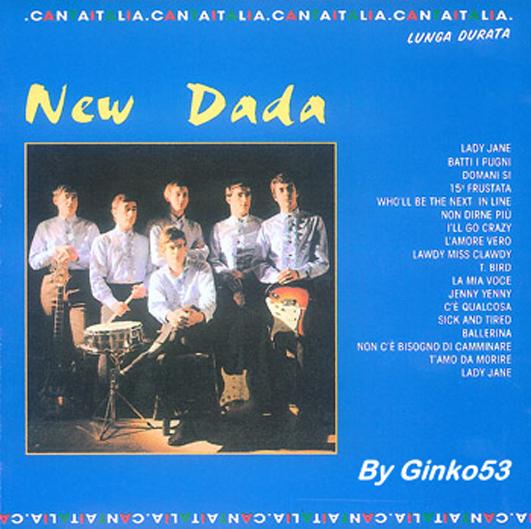 Cover Album of New Dada - Raccolta (2000)