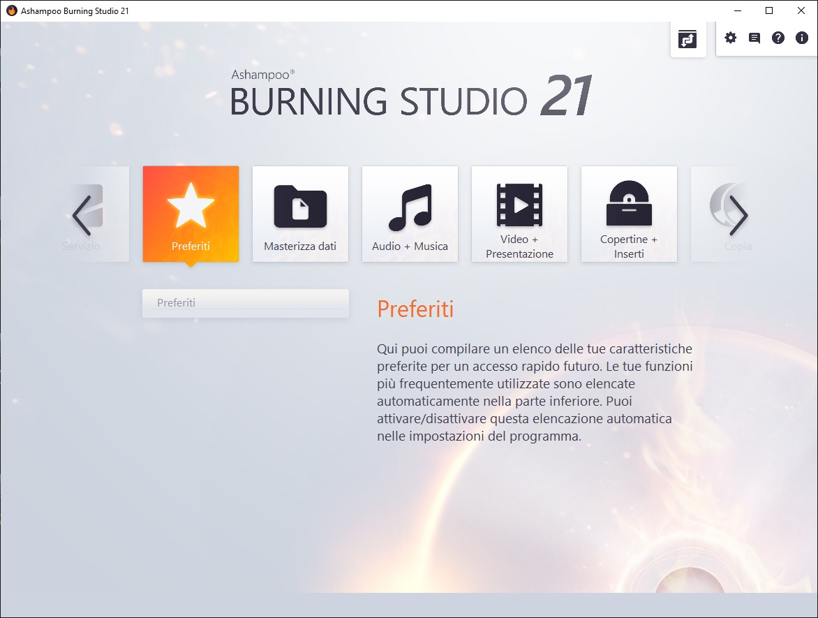 Ashampoo Burning Studio v21.8.5 - ITA