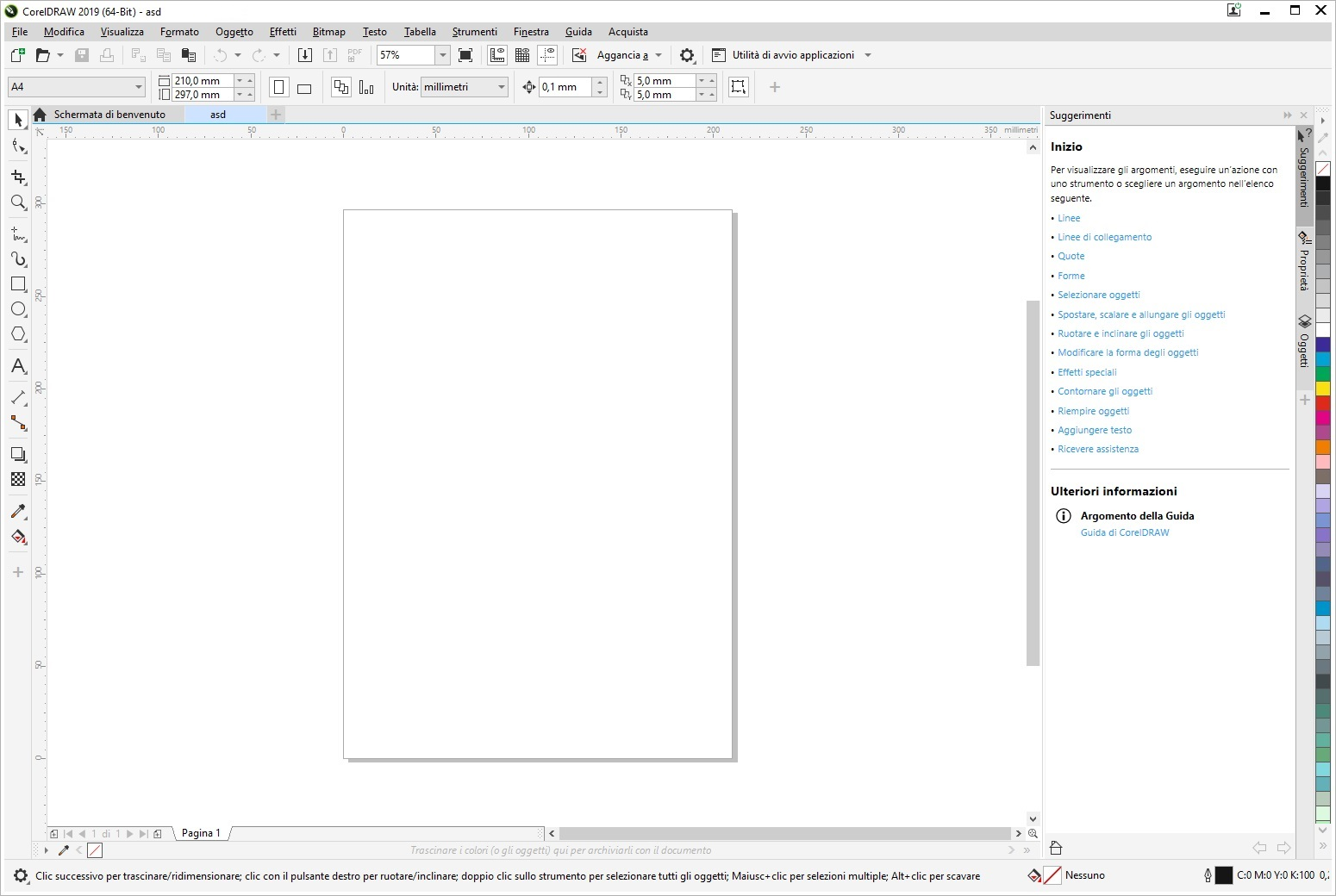 CorelDRAW Graphics Suite 2019 v21.0.0.593 x64 - ITA