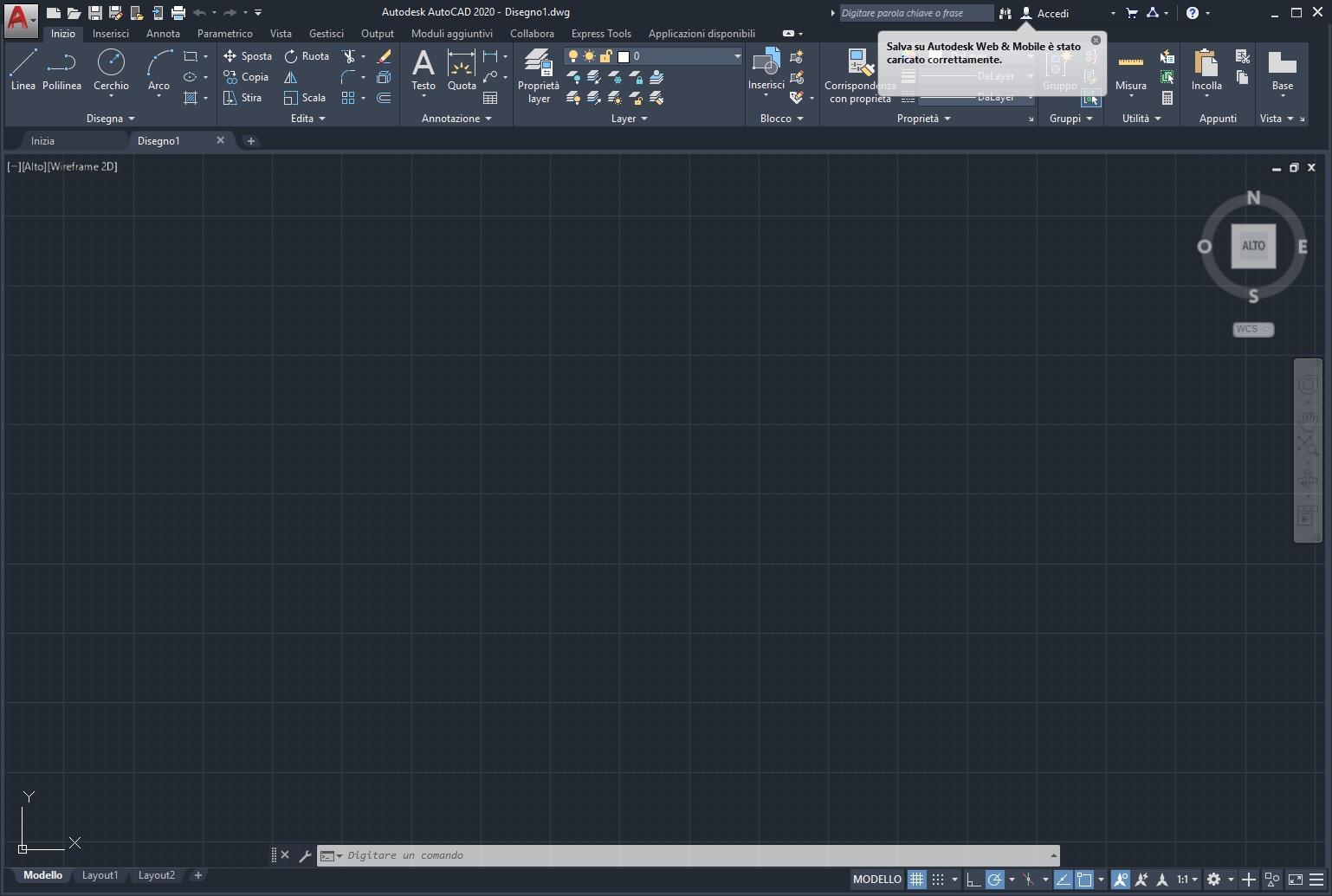 Autodesk AUTOCAD 2021 x64 - ITA