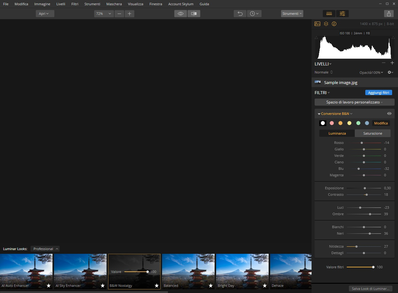 [MAC] Luminar Flex 1.1.0 macOS - ITA