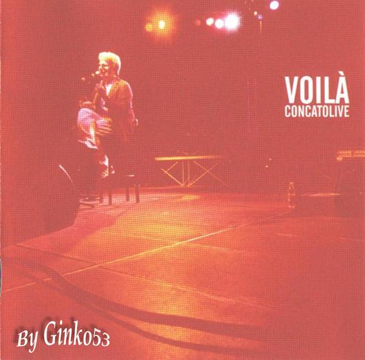 Cover Album of Fabio Concato - Voila' Concato Live (2003)
