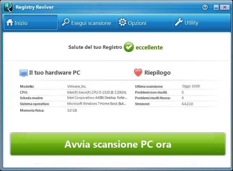 ReviverSoft Registry Reviver v4.22.0.26 - Ita