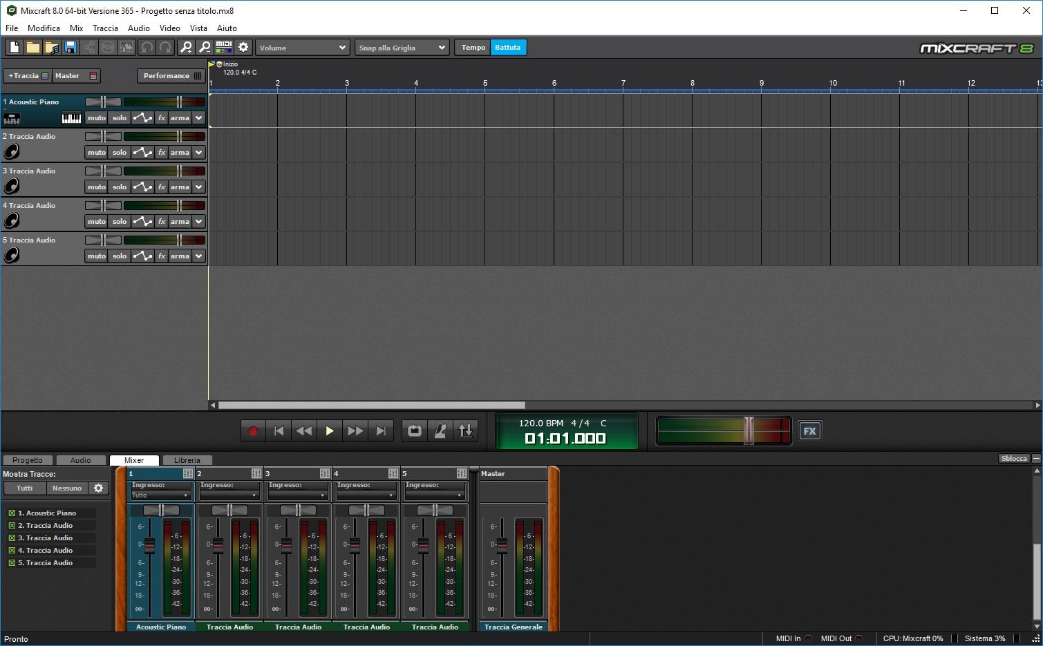 Acoustica Mixcraft Pro Studio 8.0 Build 384 - ITA