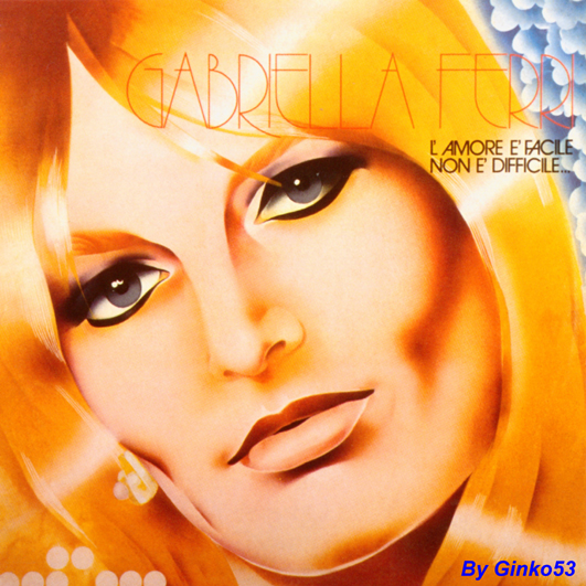 Cover Album of Gabriella Ferri - L'amore è Facile Non è Difficile (2002)