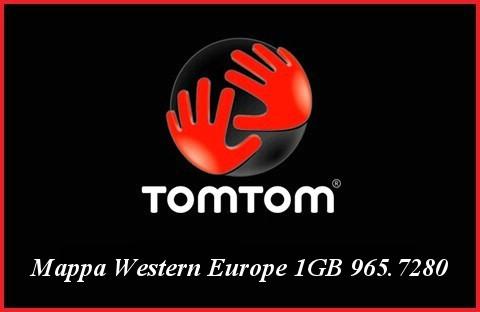 Tom Tom Western Europe 1GB 965.7280