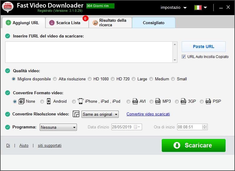 Fast Video Downloader 3.1.0.61 - Ita