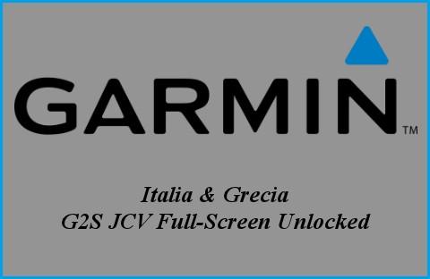 Garmin City Navigator NT 2016- Mappa Italia + Grecia + G2S JCV Full-Screen Unlocked