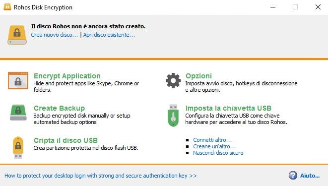Rohos Disk Encryption v3.0 - ITA