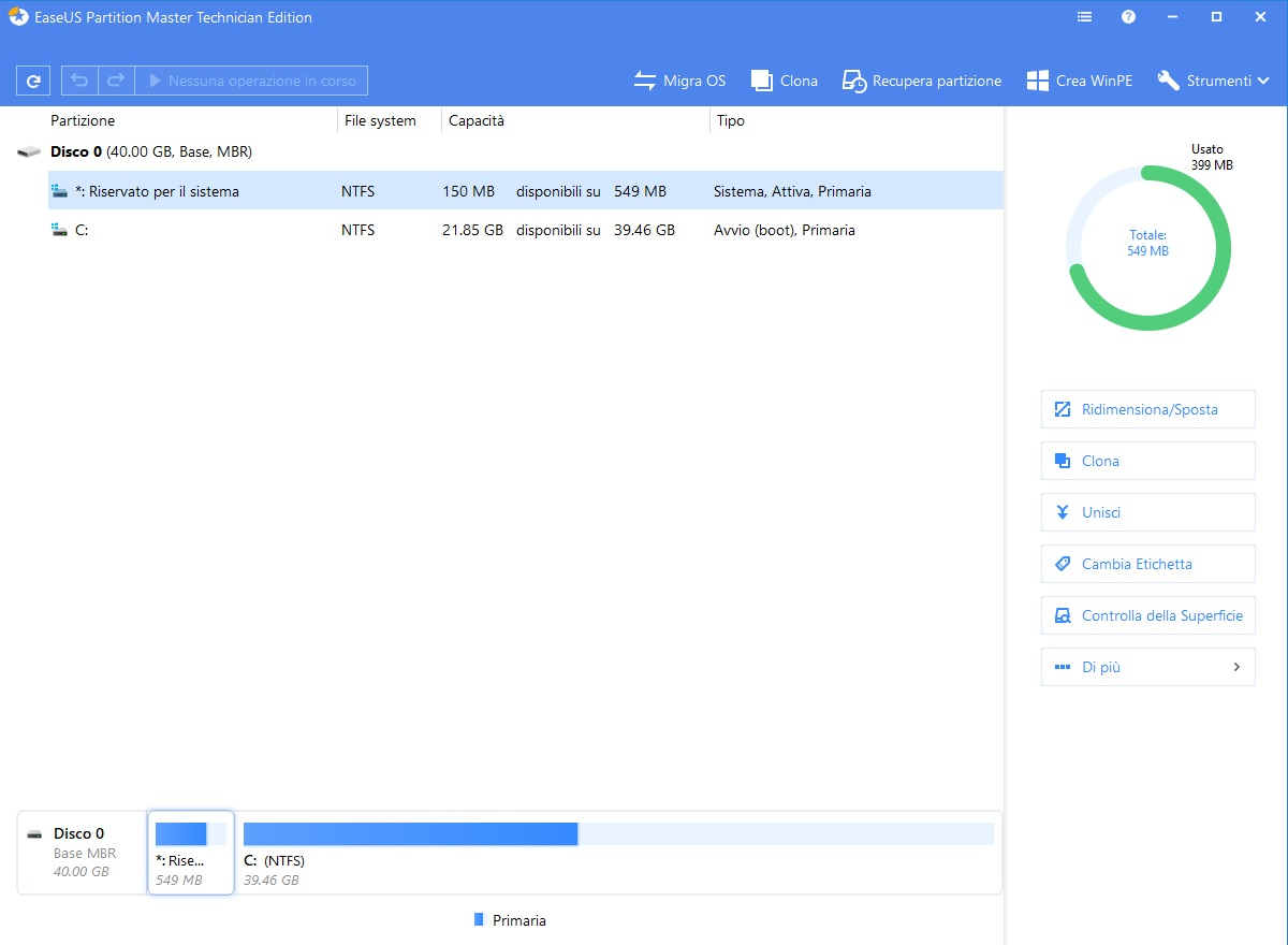 EaseUS Partition Master 13.8 WinPE Editions - ENG