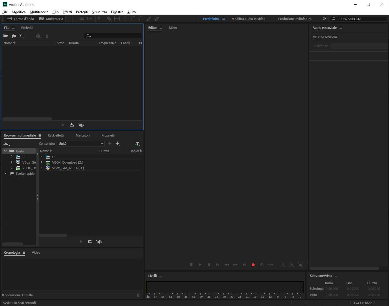 Adobe Audition 2020 v13.0.5.29 Beta 64 Bit - Ita