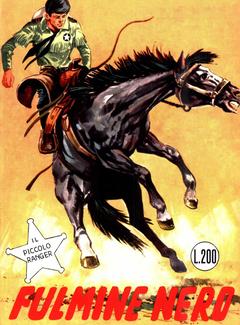 Gli Albi del Cow Boy n. 28 - Il Piccolo Ranger - Fulmine nero (1966)