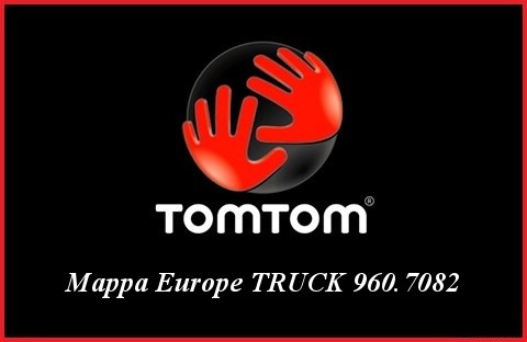 Tom Tom - Mappa Europe TRUCK 960.7082