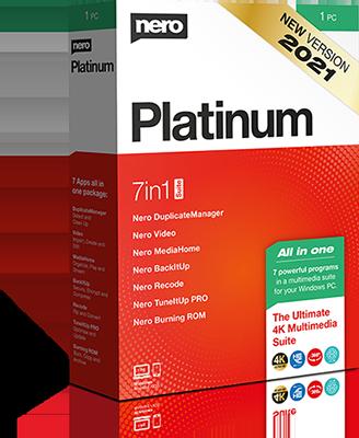 Nero Platinum 2021 Suite v23.0.1000 + Content Pack - Ita