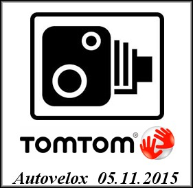 Tom Tom - Autovelox Aggiornati (05.11.2015)