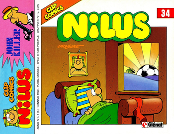 Clip Comics - Nilus 34 (1990)