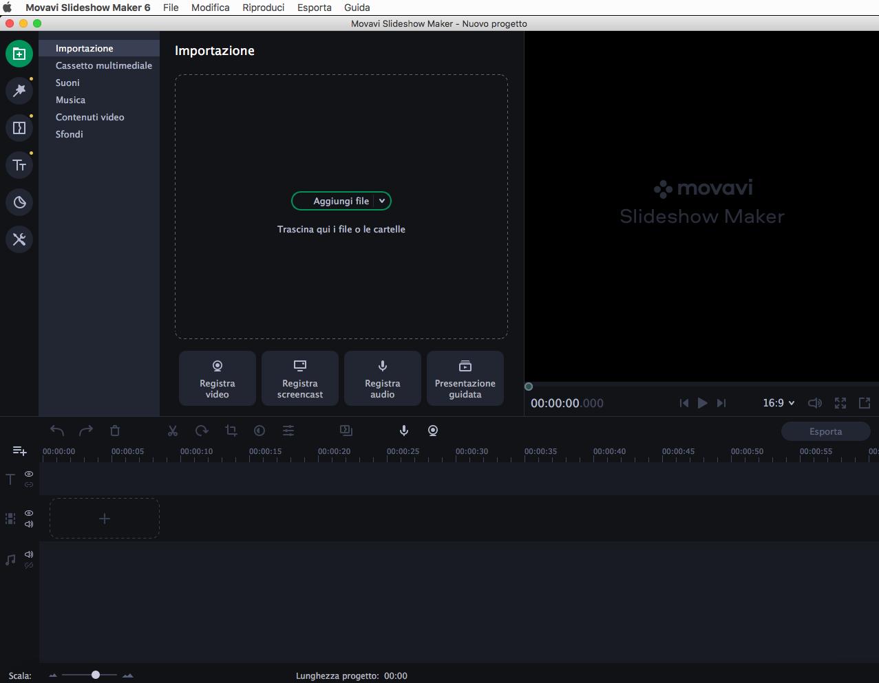 [MAC] Movavi Slideshow Maker 6.4.0 macOS - ITA
