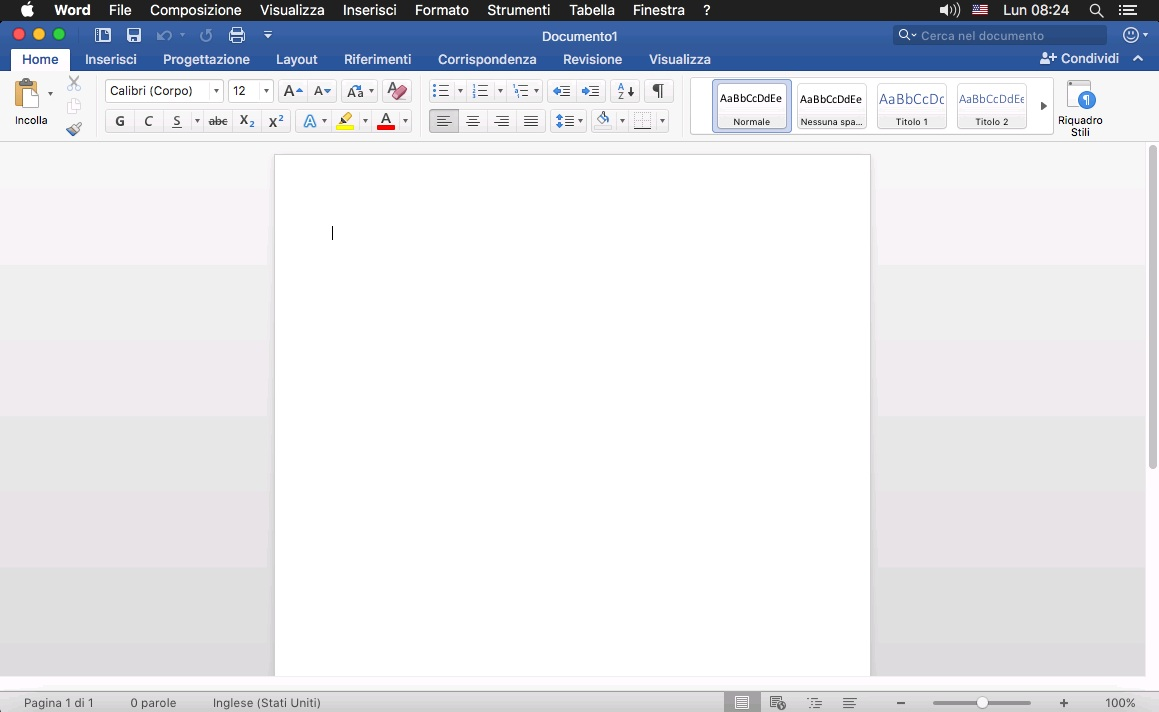 [MAC] Microsoft Office 2016 VL for Mac v16.16.13 - ITA