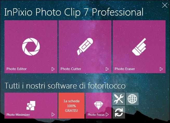 InPixio Photo Clip Professional v7.6.0 - ITA