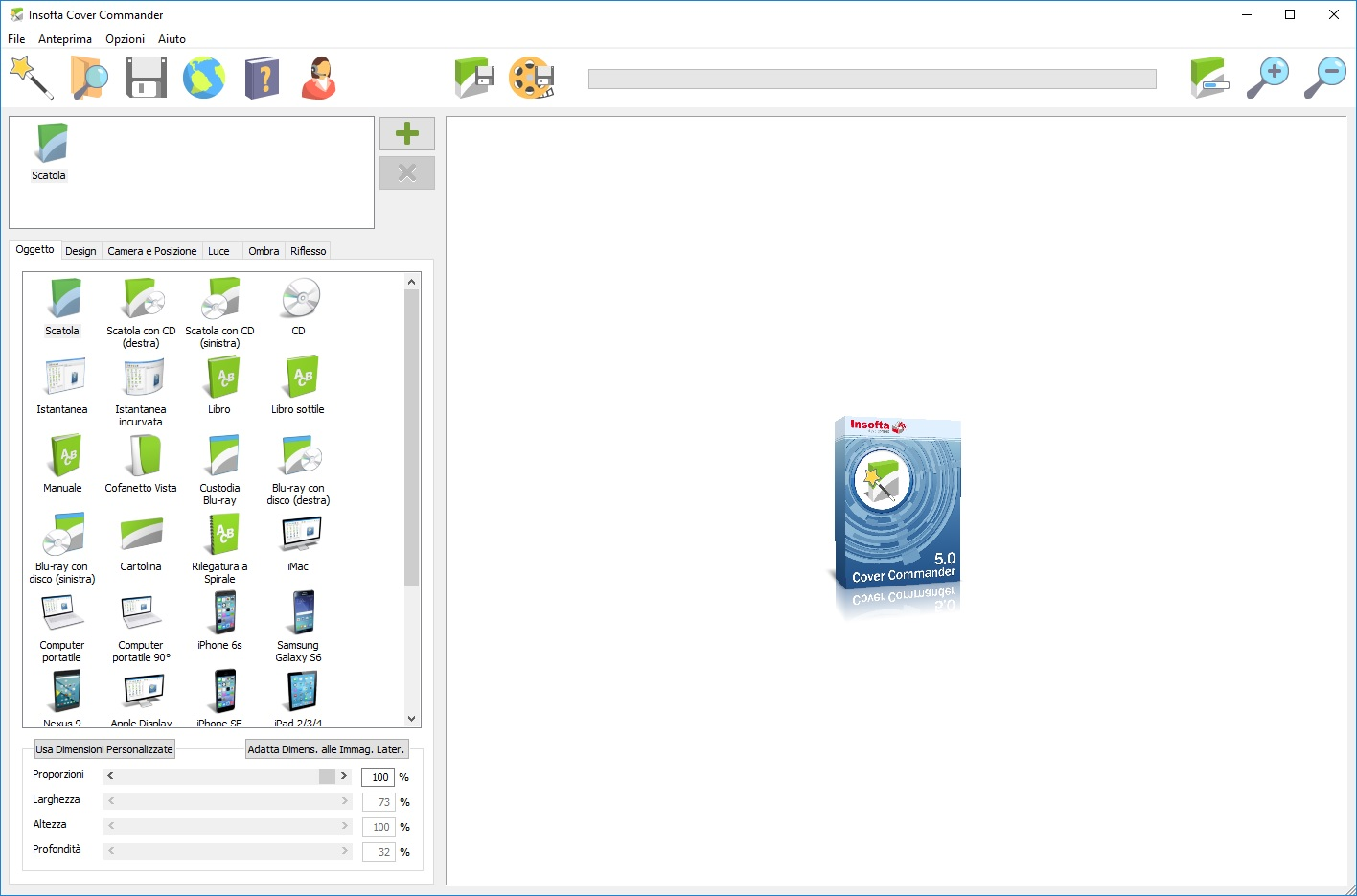 Insofta Cover Commander v5.7.0 - ITA