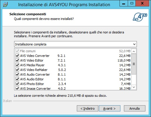 AVS4YOU Software AIO Installation Package 4.2.3.155 - ITA