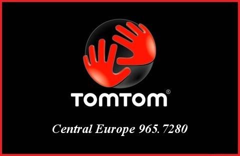 Tom Tom Central Europe 965.7280
