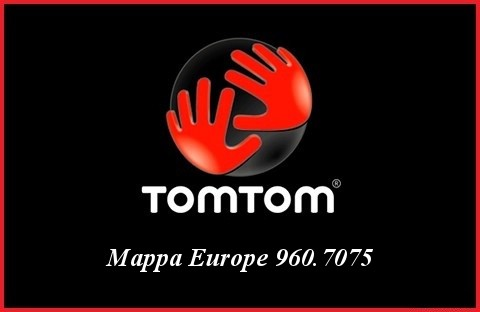 TomTom - Mappa Europe 960.7075