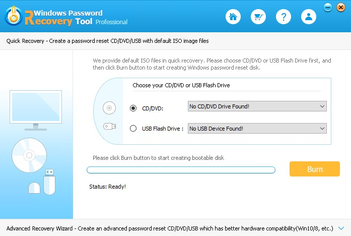 Windows Password Recovery Tool Professional v6.4.5 - ENG