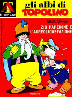 Gli Albi di Topolino n. 1050 - Zio Paperone e l'aureoliquefazione (1974)