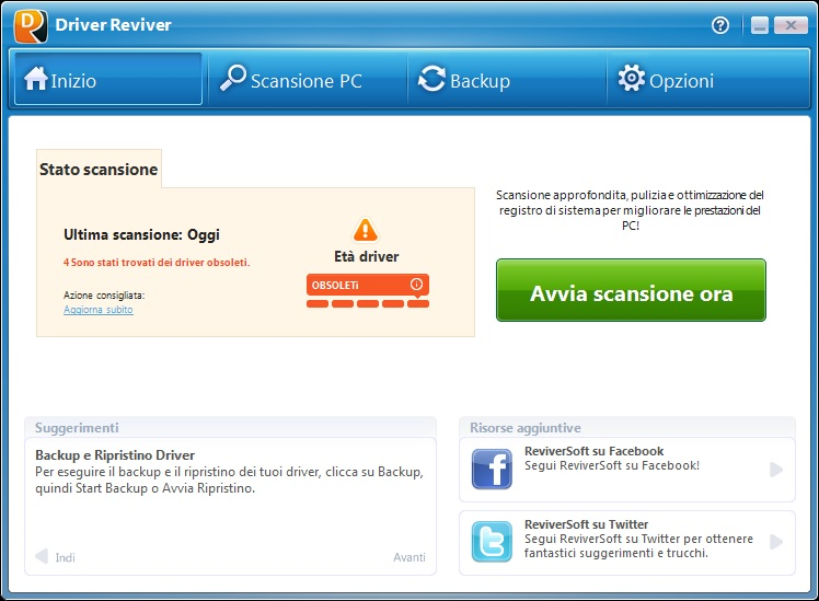 ReviverSoft Driver Reviver 5.31.2.2 - ITA