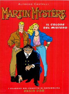 I Classici del Fumetto di Repubblica Serie Oro n .16 -  Martin Mystère. Il colore del mistero (2005)