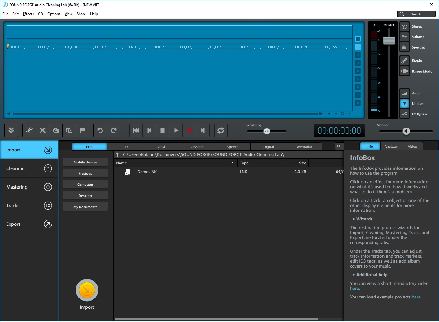 MAGIX SOUND FORGE Audio Cleaning Lab v24.0.0.8 - ENG