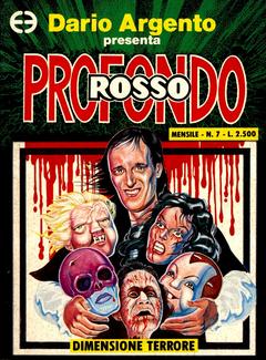 Dario Argento presenta Profondo rosso n. 07 - Dimensione terrore (1991)