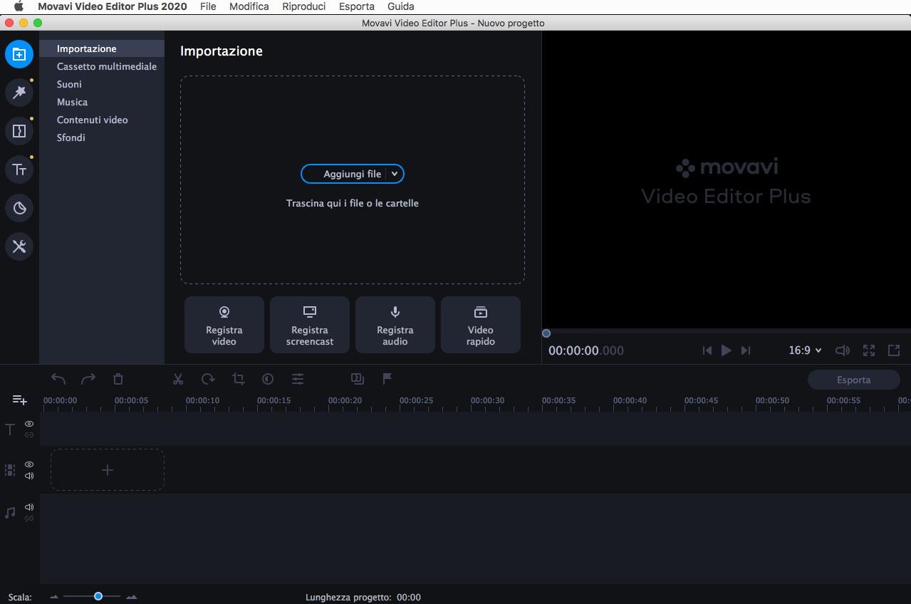 [MAC] Movavi Video Editor Plus 2020 v20.0.1 macOS - ITA