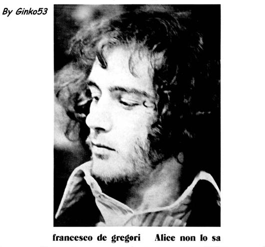 Francesco De Gregori - Alice non lo Sa (1973)