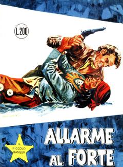 Gli Albi del Cow Boy n. 27 - Il Piccolo Ranger - Allarme al Forte (1966)