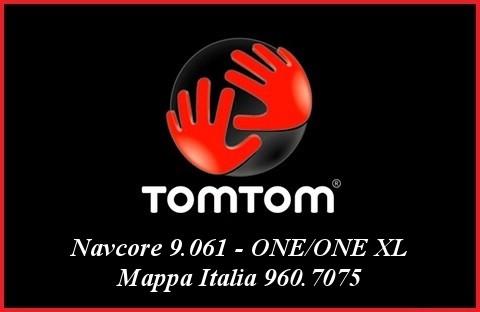 Tom Tom - Navcore 9.061 - ONE/ONE XL + Mappa Italia 960.7075