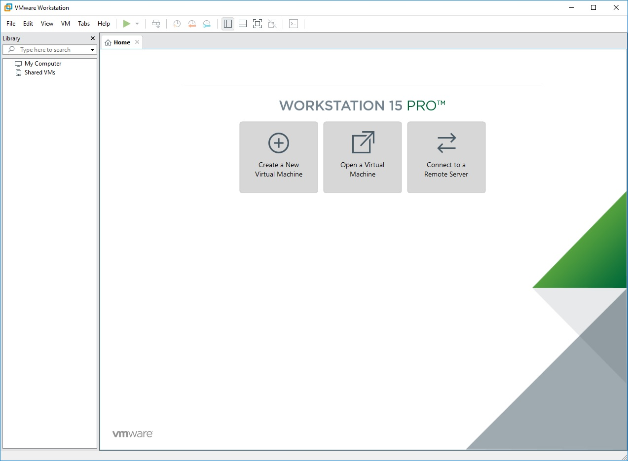 VMware Workstation Player Commercial v15.0.3 Build 12422535 64 Bit - ENG