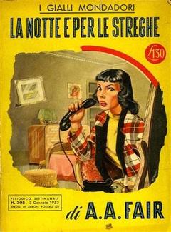 A. A. Fair - La notte è per le streghe (1953)