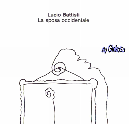 Cover Album of Lucio Battisti - La Sposa Occidentale (1990)