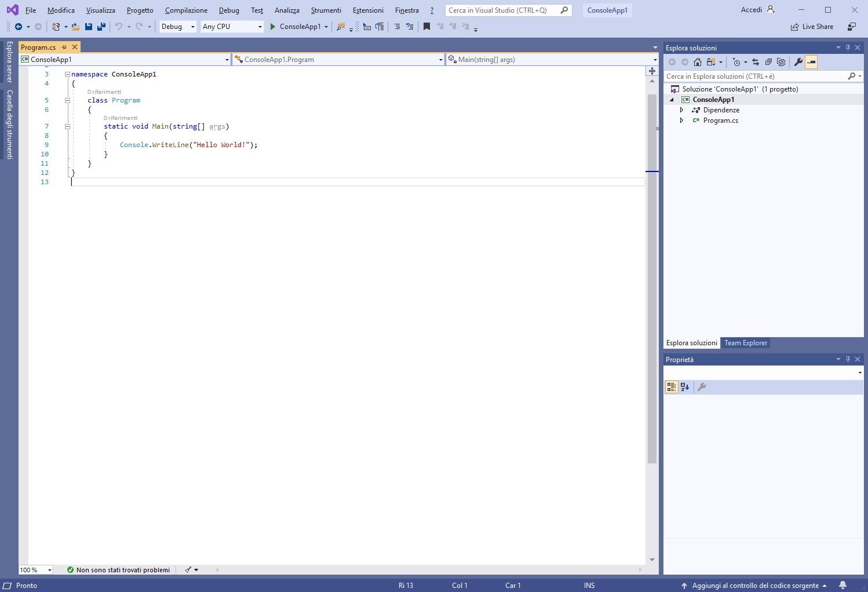 Microsoft Visual Studio Enterprise 2019 v16.3.4 - Ita