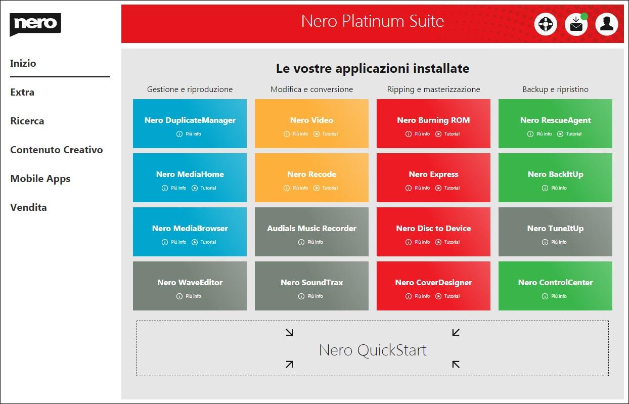 Nero Platinum Suite 2020 v22.0.00900 + Content Pack - ITA