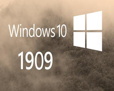 Microsoft Windows 10 Pro v1909 (19H2) Novembre 2019 - Ita