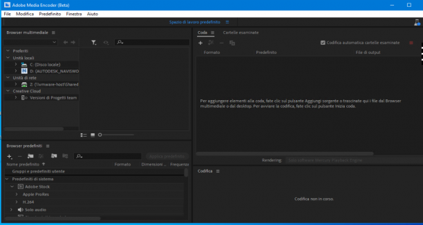 Adobe Media Encoder 2020 v14.3.0.5 Beta 64 Bit - Ita