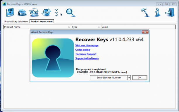 Nuclear Coffee Recover Keys MSP License v11.0.4.233 - Ita