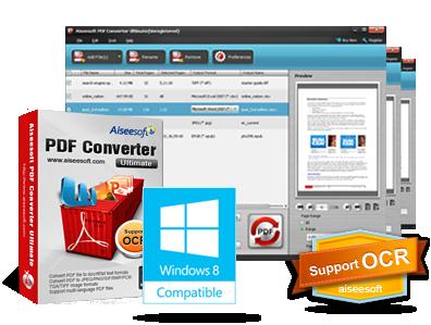 Aiseesoft PDF Converter Ultimate 3.3.22 - Eng