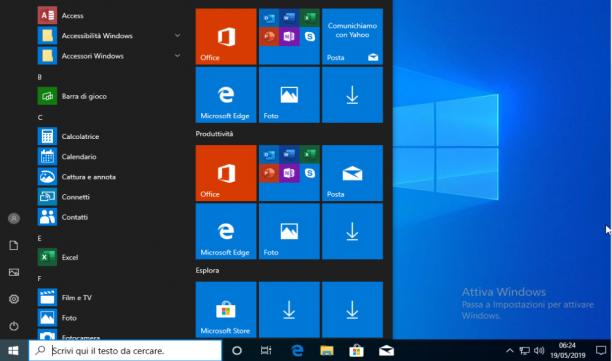 Microsoft Windows 10 Pro VL v1903 + Office 2019 Pro Plus - Maggio 2019 - Ita