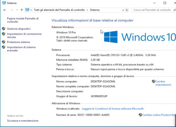 Microsoft Windows 10 Pro v1903   Office 2019 & More - Settembre 2019 - Ita