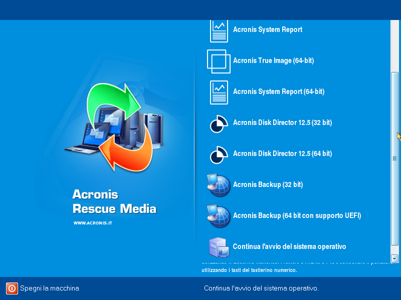 Acronis All-In-One BootCD Collection 13.01.2020 - ITA