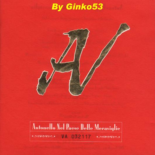 Cover Album of Antonello Venditti - Antonello nel Paese delle Meraviglie (1997)